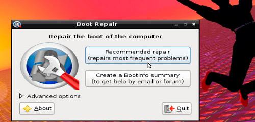 Reparando a Inicialização do Ubuntu (GRUB)