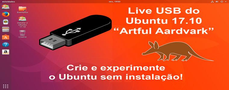Testar o Ubuntu 17.10 no Windows sem instalação