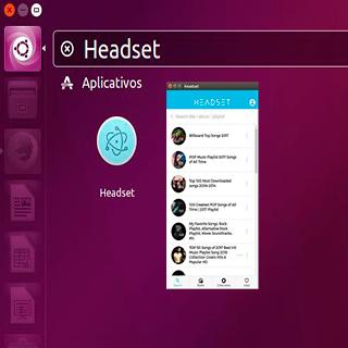 Headset - O YouTube em um Desktop Music Player!