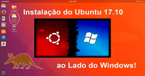 Instale facilmente o Ubuntu 17.10 ao lado do Windows após experimentá-lo