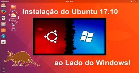Instale facilmente o Ubuntu 17.10 ao lado do Windows após experimentá-lo